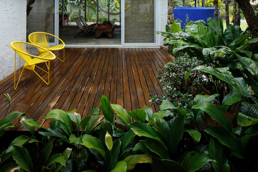 Sao Sebastiao, Brasil - December 21 of 2016: Gardening - beach house. Image by CAIO GUATELLI