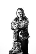 Kaelyn M. Klass<br /> Army<br /> E-4<br /> Motor Transportation Driver<br /> 07/05/05-11/05/08<br /> OEF<br /> OIF<br /> <br /> (Photo by Stacy L. Pearsall)