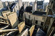 Saint Merri church. Paris view from bell towers. PR272A