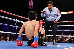 "October 13, 2012; Carson, CA; USA; Images from the HBO Boxing after Dark bout between Nonito ""The Filipino Flash"" Donaire and Toshiaki Nishioka at the Home Depot Center in Carson, CA.  **HBO USAGE ONLY**"