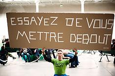 Le CentQuatre ( 104 ) a Paris, fevrier 2009