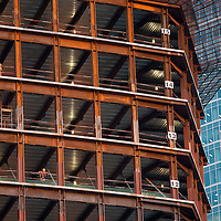 RUSSIA - Russland - MOSCOW, MOSKAU; Großbaustelle; construction site > MOSCOW CITY, workers...