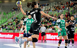 Carmen B. Martin of Krim during handball match between RK Krim Mercator and Gyori Audi ETO KC (HUN) in 3rd Round of Group B of EHF Women's Champions League 2012/13 on October 28, 2012 in Arena Stozice, Ljubljana, Slovenia. (Photo By Vid Ponikvar / Sportida)
