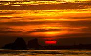 Sunset Pacific Coast Highway
