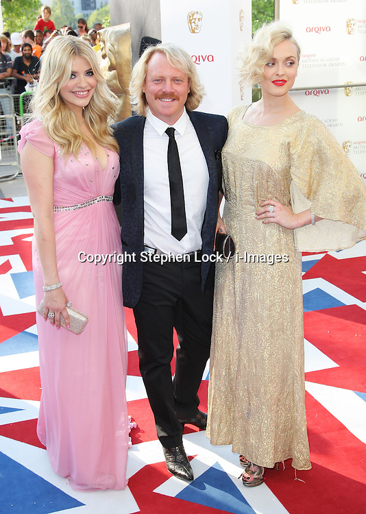 Holly Willoughby, Keith Lemon and Fearne Cotton  arriving at the British Academy Television Awards in London, Sunday , 27th May 2012.  Photo by: Stephen Lock / i-Images