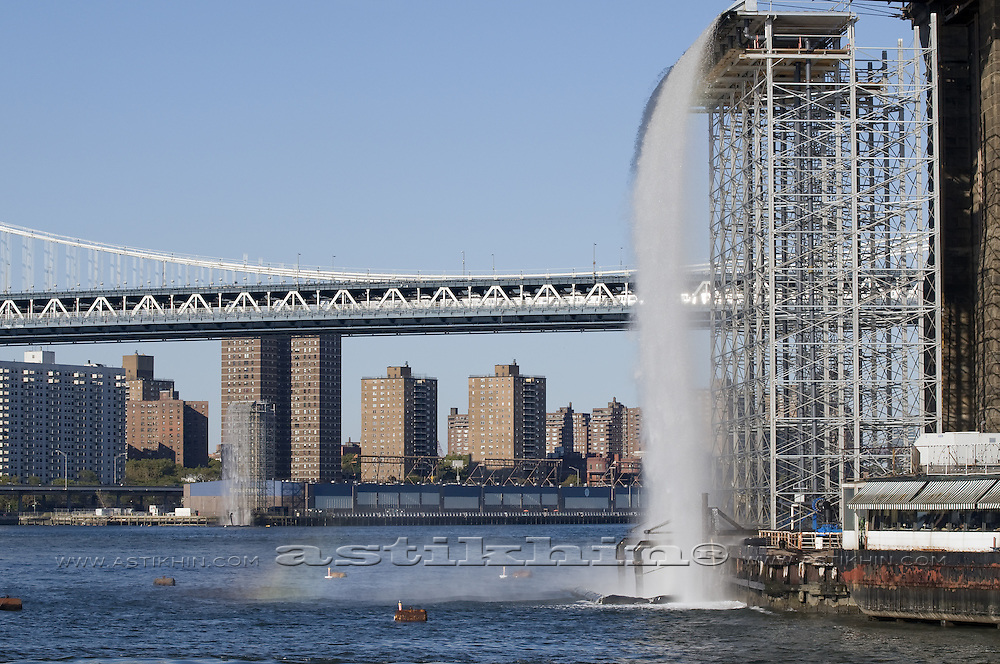 Two Waterfall on East River.