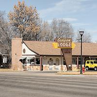 USA, Utah, Panguitch, Canyon Lodge motel