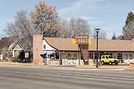 USA, Utah, Panguitch, Canyon Lodge motel
