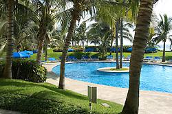 Pool side at Condominium development in Acapulco.