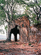 Ruins on Ross Island