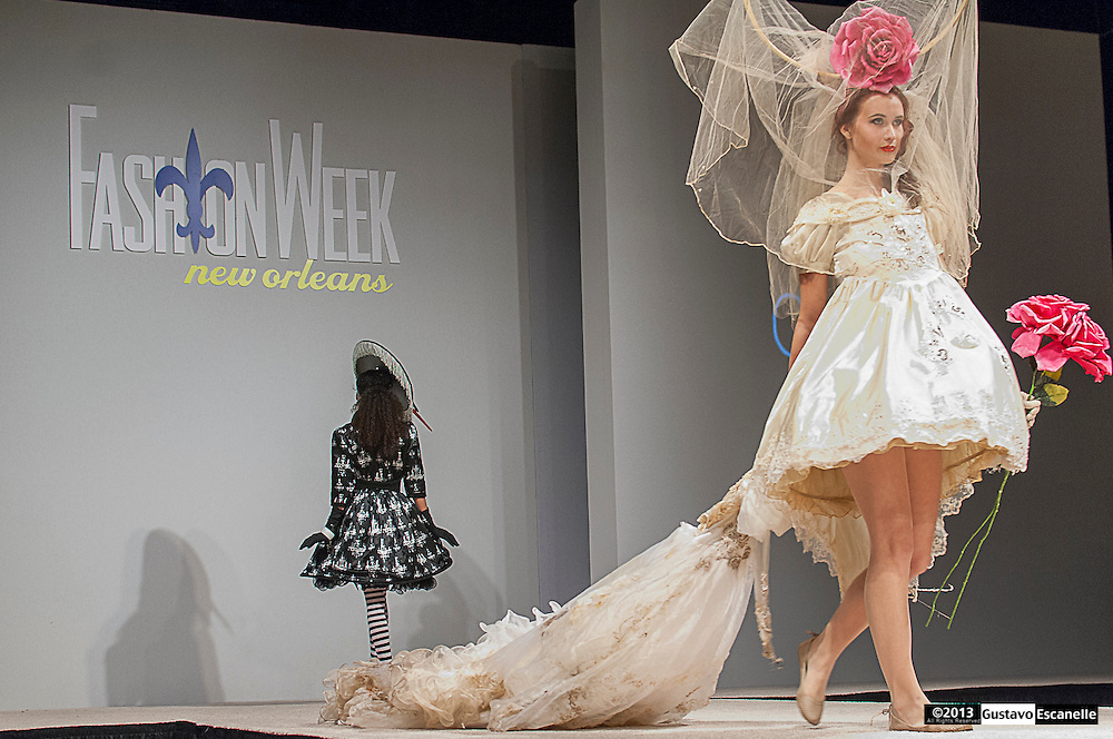 CoLab of New Orleans showing their collection at Fashion Week New Orleans.