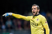 ROTTERDAM - Excelsior - Vitesse , Voetbal , Eredivisie , Seizoen 2015/2016 , Stadion Woudestein , 31-10-2015 , Excelsior keeper Tom Muyters