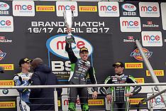 R2 MCE British Superbike Championship Brands Hatch Indy Circuit 2017