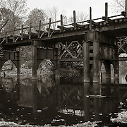 Rail Bridge, West Branch Housatonic River