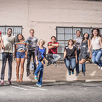 Group of aspiring photo assistants in Los Angeles