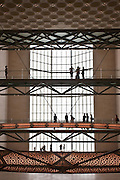 Interior of The Museum of Islamic Art, Doha, Qatar, I. M. Pei