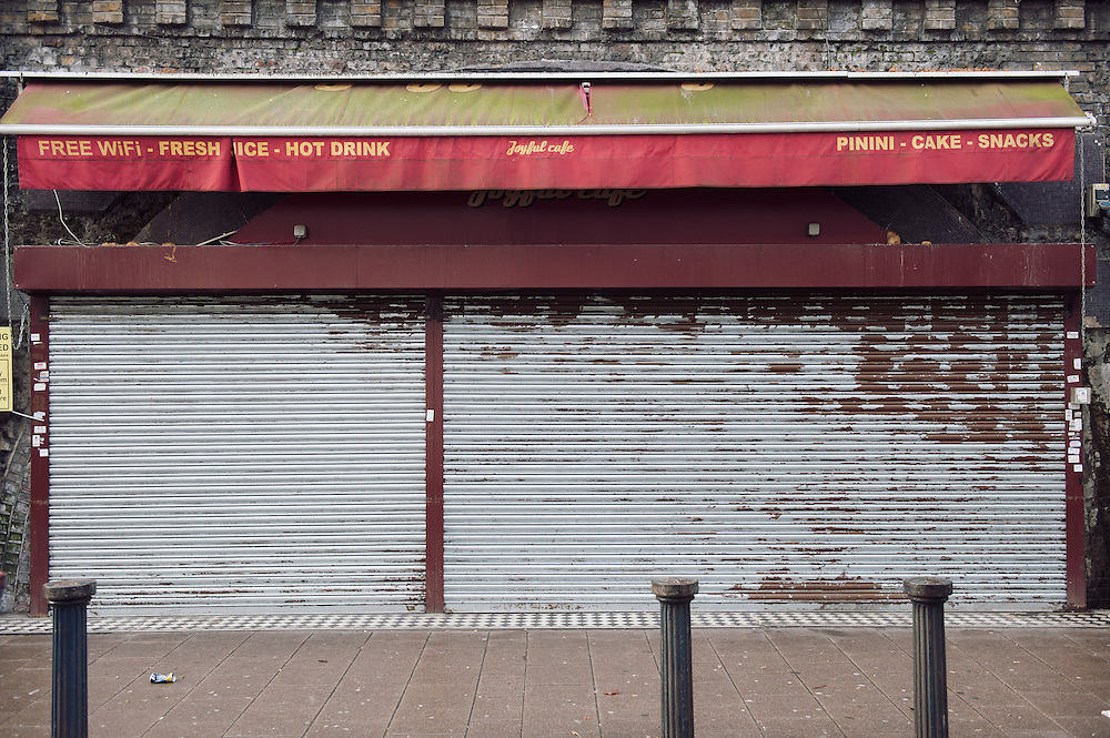 Joyful Cafe.<br /> 6 Brixton Station Road.<br /> <br /> The shop opened 2 years ago. The owners are Eritrean refugees.