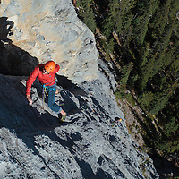 Sport Climbing in the North Ghost on STD Wall