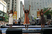 7/29/2005 - Toyota Concert Series On The Today Show With Destiny's Child