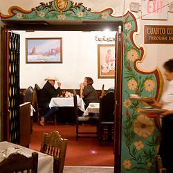 Dinner at El Rancho Restaurant.