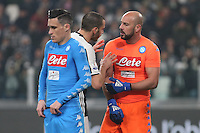 can - 28.02.2017 - Torino - Serie A 2016/17 - 11a giornata  -  Juventus-Napoli  nella  foto: Pepe Reina
