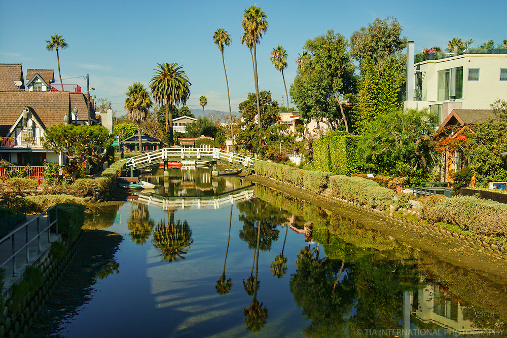 Reflection of Venice Canals