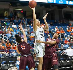 2015 ACC Women's Tourney Virginia Tech vs University of Pitt