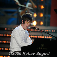 Panic at the Disco performing at Boost Mobile Rockcorps Give to Get concert for volunteers at Radio City Music Hall on September 23, 2006..
