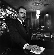 Renato, bartender, San Domenico Restaurant