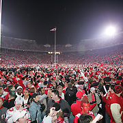 COLUMBUS, OH - November 18:  2006 Ohio State University Marching Band and fans celebrate the win over Michigan. Credit: Bryan Rinnert COLUMBUS, OH - November 18:  2006 Ohio State University Marching Band and fans celebrate the win over Michigan. Credit: Bryan Rinnert