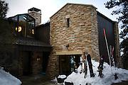 Richard Landry's Mammoth Lakes, CA vacation home, January 9, 2010.