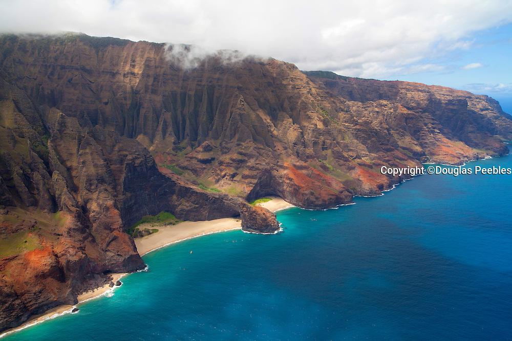 Honopu Beach, Napali Coast, Kauai, Hawaii