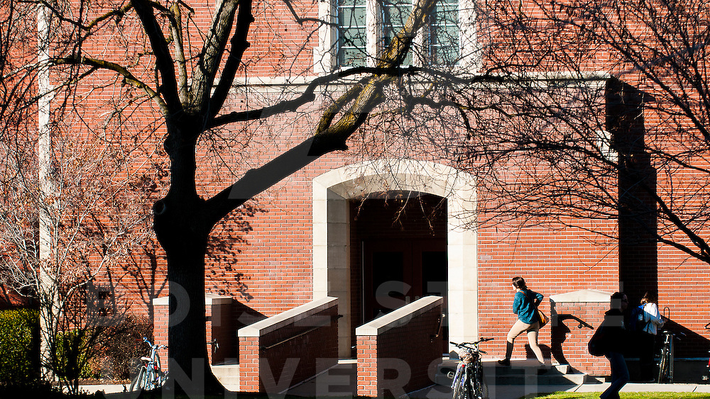 Campus Scene, Student Life, Finals Week, Architecture,  QUAD, Administration Building,