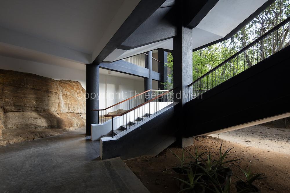 The Kandalama Hotel<br /> Due east of Dambulla, Sri Lanka.<br /> 1992. Geoffrey Bawa