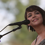 Norah Jones performs on the third day of the 2010 Bonnaroo Music & Arts Festival on June 12, 2010 in Manchester, Tennessee. The four-day music festival features a variety of musical acts, arts and comedians..Photo by Bryan Rinnert/3Sight Photography