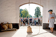 21 -9-2016 Oldebroek - Princess Beatrix of the Netherlands opens Wednesday September 21 the restored Molen De Hoop in Oldebroek. restored after a restoration period of five years, the exterior of the mill in 1853 and the blades can rotate again. The mill gets back its original three functions; grinding, peeling and beat oil. Several volunteer millers (in training) hold Molen De Hoop spinning. COPYRIGHT ROBIN UTRECHT<br /> 21 -9-2016 Oldebroek - Prinses Beatrix der Nederlanden opent woensdagochtend 21 september de gerestaureerde Molen De Hoop in Oldebroek. Na een restauratieperiode van vijf jaar is het exterieur van de korenmolen uit 1853 hersteld en kunnen de wieken weer draaien. Ook krijgt de molen haar drie oorspronkelijke functies terug; malen, pellen en olie slaan. Diverse vrijwillige molenaars (in opleiding) houden Molen De Hoop draaiende. COPYRIGHT ROBIN UTRECHT