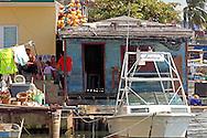 Fishing boat in Playa Baracoa, Artemisa, Cuba.