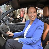 Segolene Royal, French Minister of Ecology, Visits Lyon