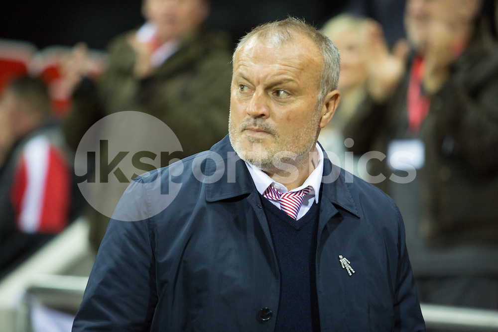 Rotherham United Manager Neil Redfearn during the Sky Bet Championship match between Rotherham United and Sheffield Wednesday at the Aesseal New York Stadium, Rotherham, England on 23 October 2015. Photo by James Williamson.