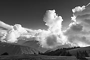 Clouds on Hurricane Ridge, ONP