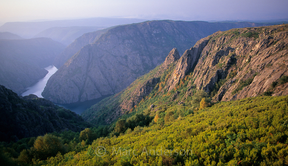 Beautiful gorge & mountains, Gargantas Del Sil, Galicia, Spain