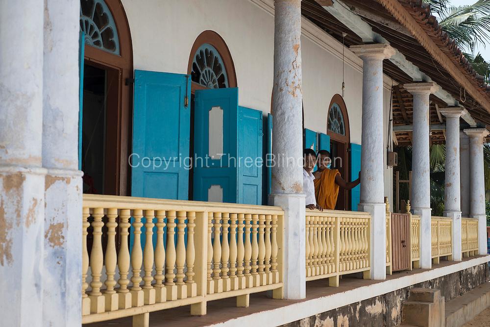 Shailabimbarama Buddhist Temple. Dodanduwa.
