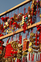 Similar to Chinese New Years in both red and gold decorations and dates - Tet is the most important holiday and festival in Vietnam. It is the Vietnamese New Year based on the Lunar calendar taking place from the first day of the first month of the Lunar calendar around late January or early February though celebrations continue for several days.