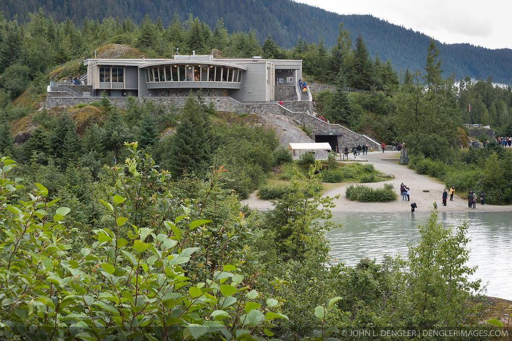Mendenhall Glacier Visitor Center, Juneau, Alaska | Dengler Images ...