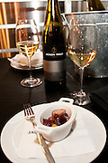 Miniature Choucroute Garni and Jackson Triggs 2009 Silver Series Riesling. January 14, 2012. © Allen McEachern.