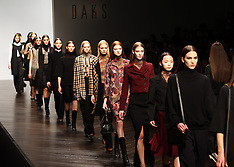 FEB 16 2013 Daks show at London Fashion Week A/W 2013