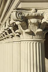 Rows of Corinthian columns