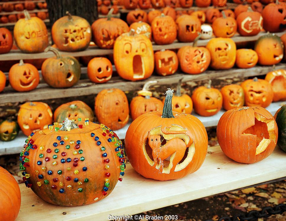 Jack O Lantern Group, Keene Pumpkin Festival Group.