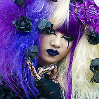 TOKYO - OCTOBER 31  : Japanese girl celebrates Halloween on October 31 2009 in Tokyo Japan ,  Halloween has become popular in Japan in recent years