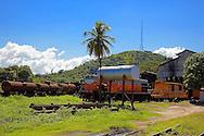 Trains in Bartolome Maso area, Granma, Cuba.